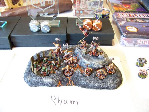 Les nains du chaos de Rhum.