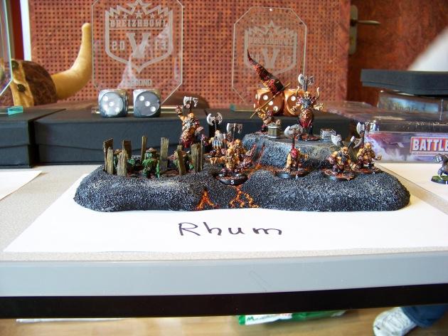 Les nains du chaos de Rhum, vainqueur du Prix Peinture.